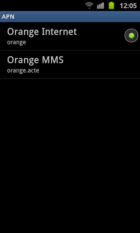 configuration mms orange caraibes