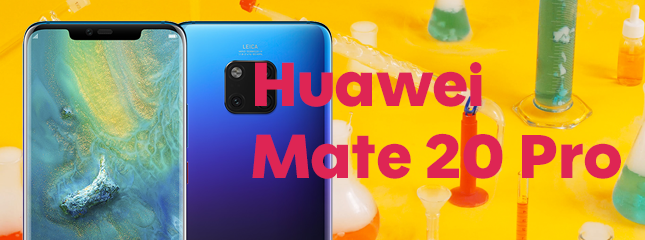 Test du Huawei Mate 20 PRO