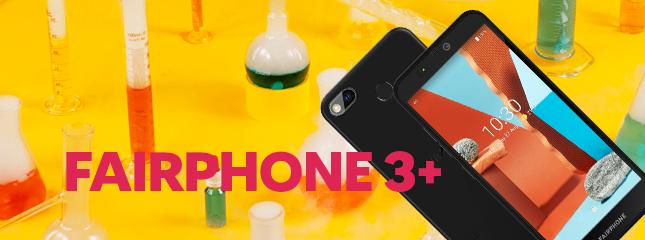 Test du Fairphone 3+