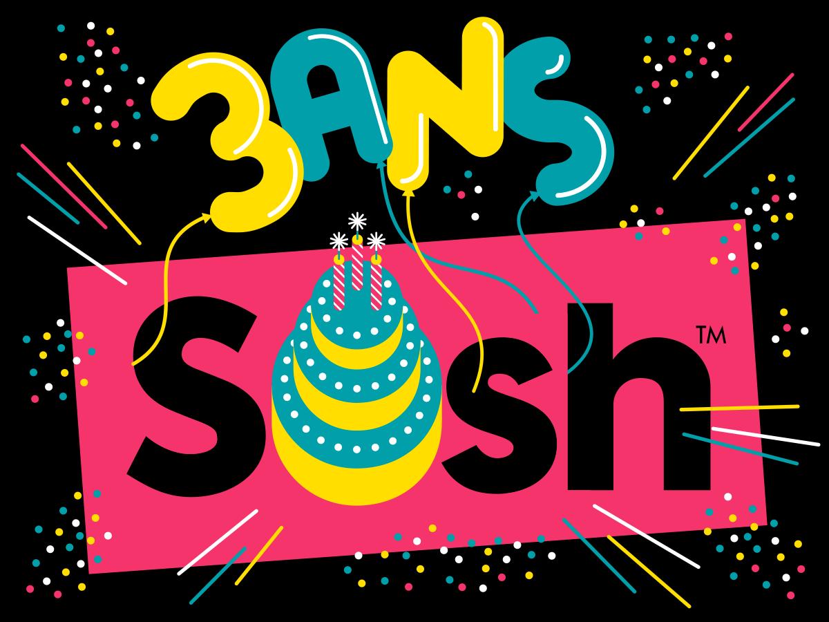 3 ans Sosh