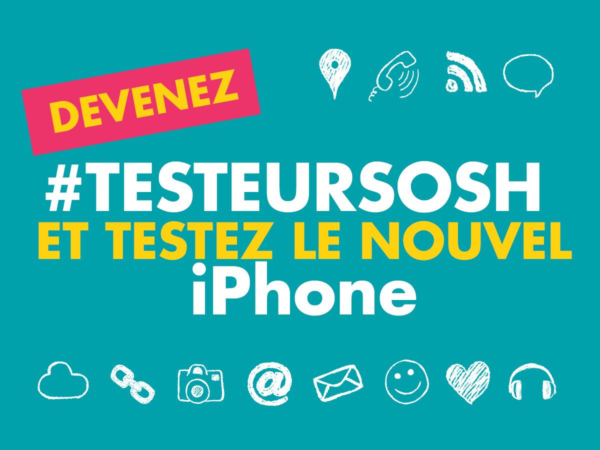 testeurSosh iPhone