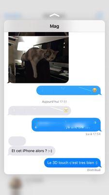 Peek SMS