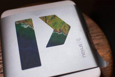 Packaging du Nexus 6P