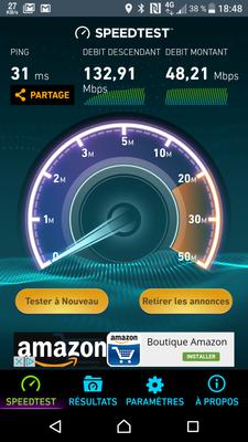 Xperia X Speedtest 4G Orange Sosh