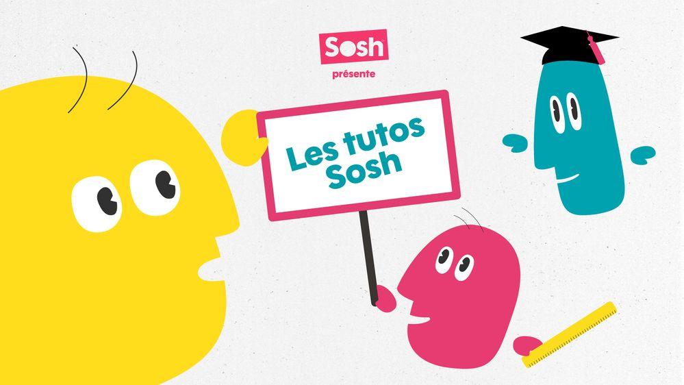Comment trouver de l'aide ou contacter Sosh ?
