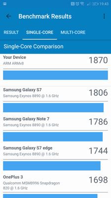 Geekbench 4 - Single Core