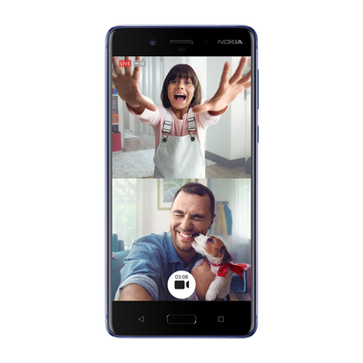 Nokia 8 Polished Blue_Front_Puppies.png