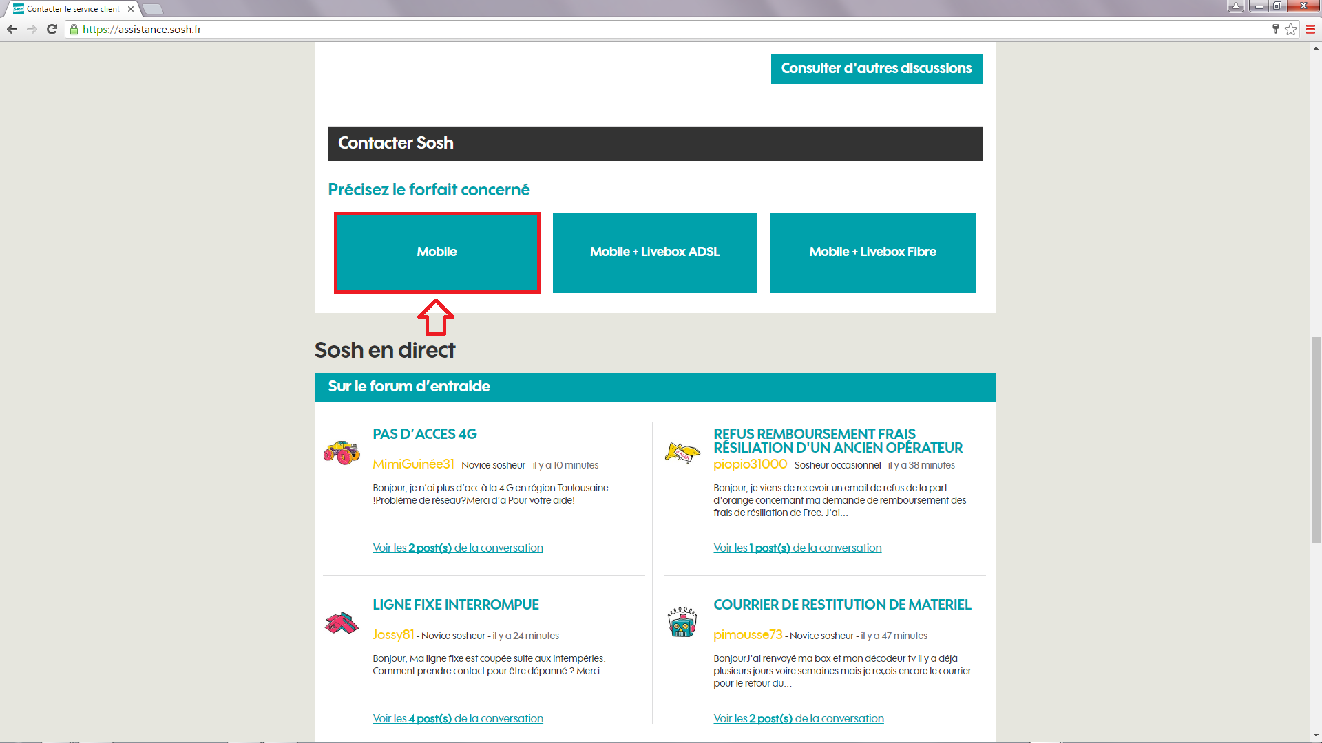 Resolu Activer Nouvelle Carte Sim Suite Changement De Tel Communaute Sosh