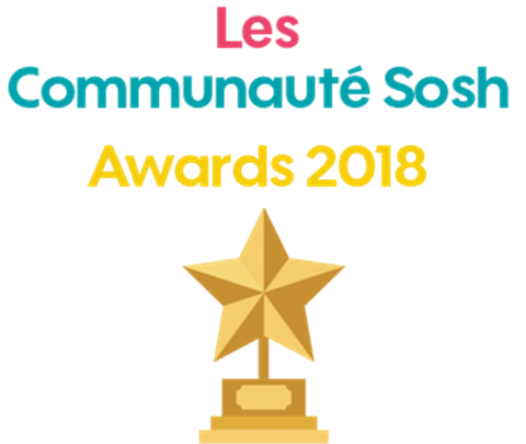 Les Communauté Sosh Awards 2018 (Phase de votes)