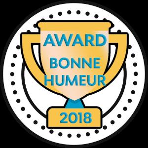 Award de la bonne humeur 2018
