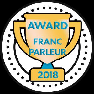 Award du Franc-parleur 2018