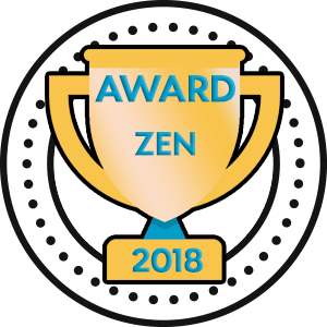Award du plus zen 2018