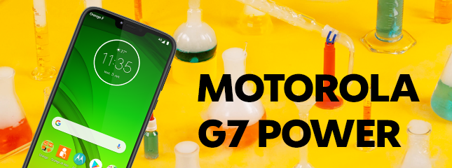 Test du moto G7 power