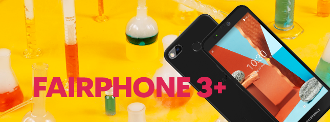 Test du Fairphone 3+