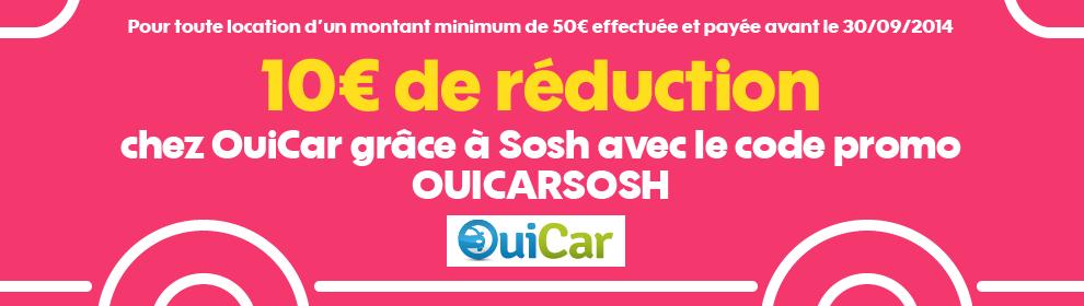 OuiCar Sosh