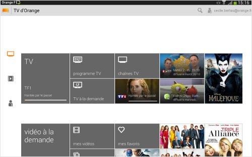Regarder la tv depuis un e mobile tablette ordina sosh - Comment avoir tv orange sur plusieur tv ...