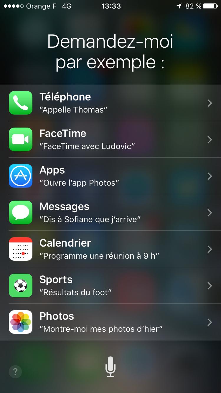 Siri iOS 9 iPhone 6s