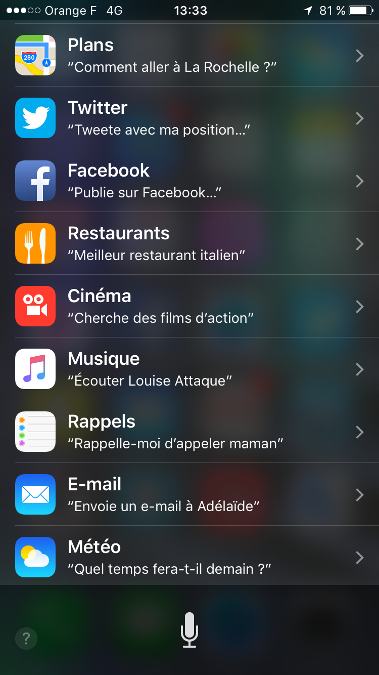 Siri 2 iOS 9 iPhone 6s