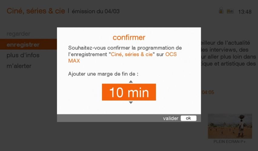 programma tv orange