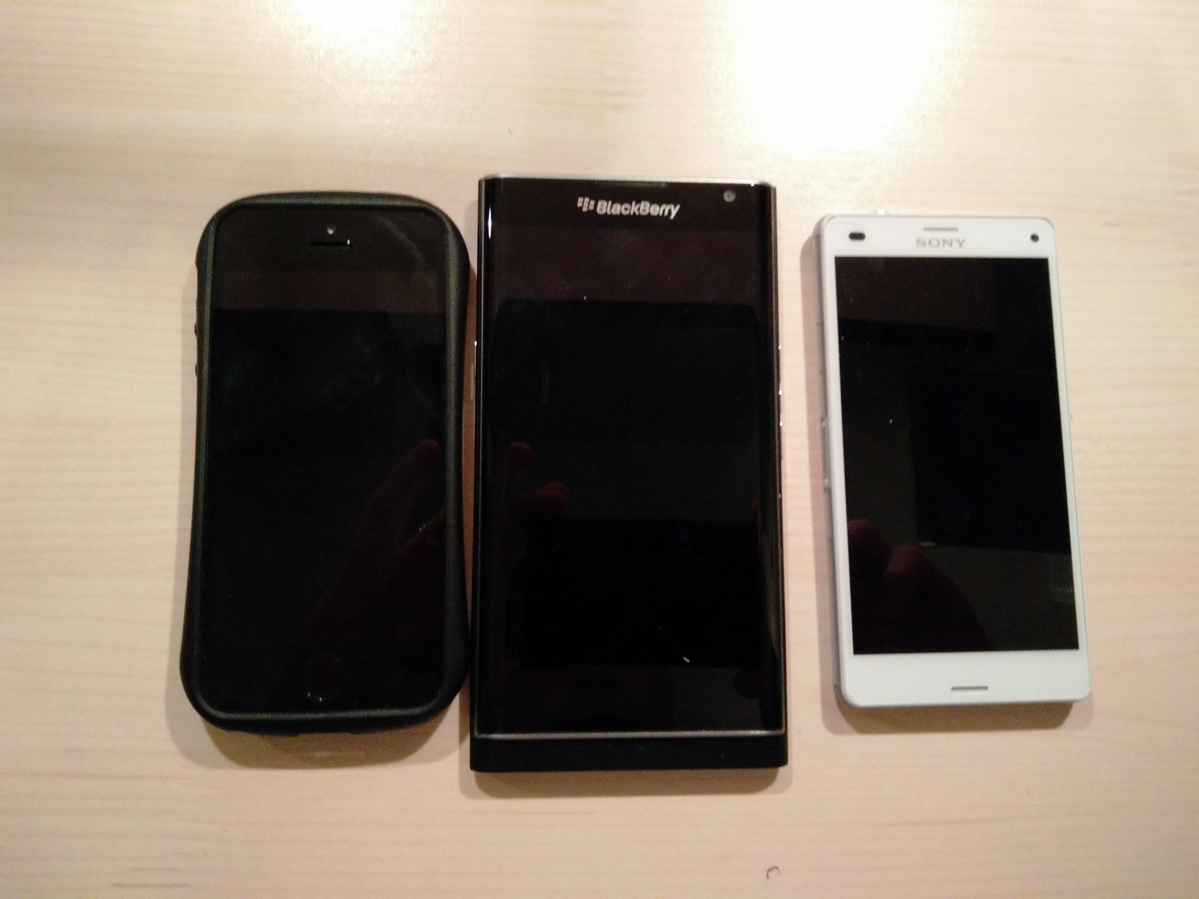 Z3CvsPrivvsIphone5s
