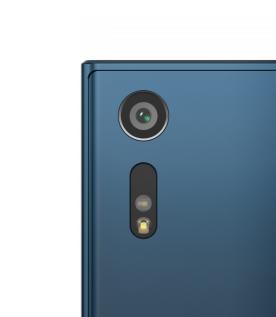 Sony Xperia XZ Bleu Marine zoom appareil photo.png