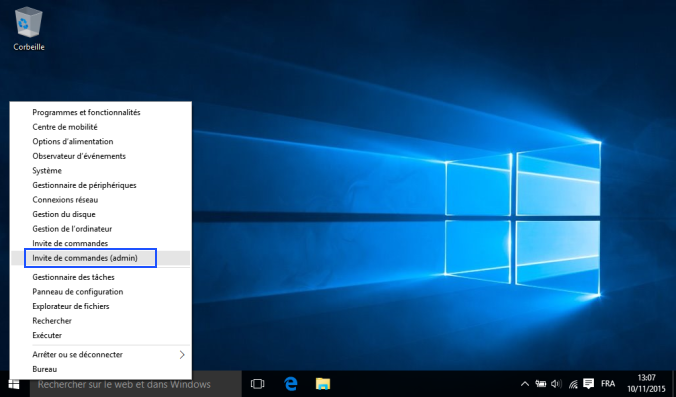 Windows 10 restaurer les param tres r seau de vo sosh for Fenetre dos windows 8