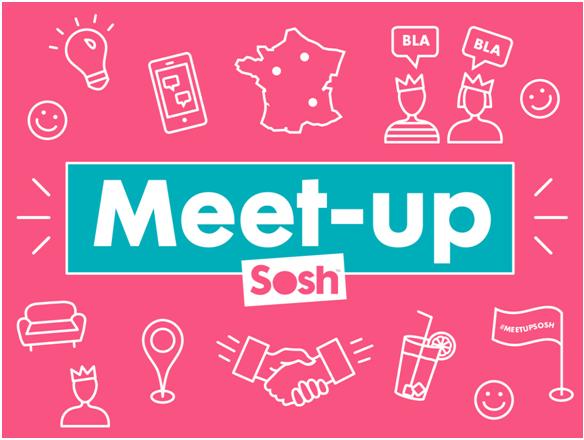 Réservez votre après-midi du 4 avril et venez nous rencontrer lors du prochain meet up