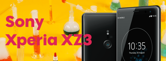 Test du Sony Xpéria XZ3 #TesteurSosh