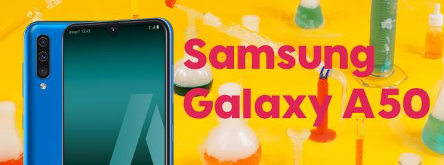 Test du Samsung Galaxy A50